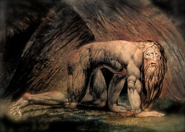 Nebuchadnezzar - by William Blake